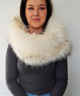 Himalaya Faux Fur Cowl/Neck Warmer