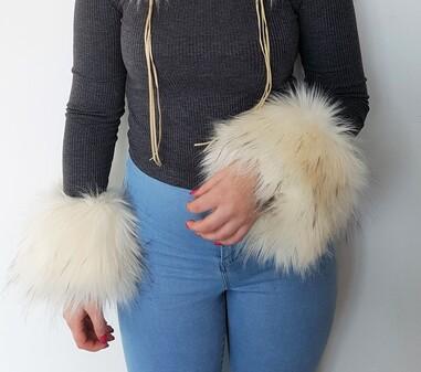 Tissavel Himalaya Faux Fur Cuffs