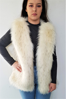 SALE Faux Fur Gilets