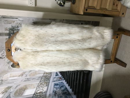 SALE Faux Fur Gilets Knee Length