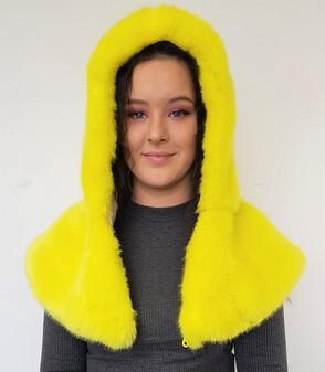 Tissavel Buttercup Faux Fur Zipped Hood