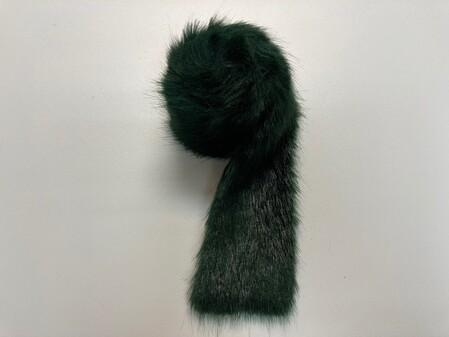 Hunter Green Faux Fur Trims