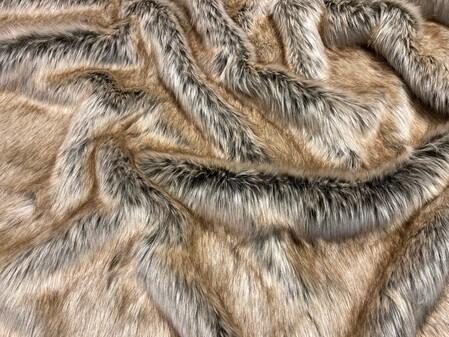 SECONDS Husky Faux Fur Fabric Per Meter