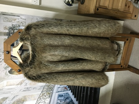 SALE Faux Fur Ponchos