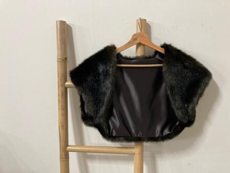 SALE Faux Fur Shrugs