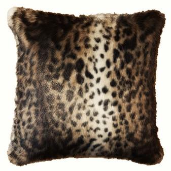 New Ocelot Faux Fur Cushions