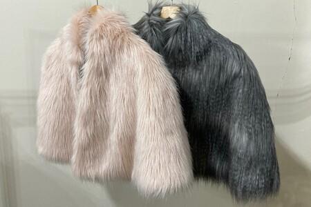 SALE Faux Fur Capes