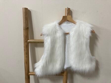 SALE Faux Fur Bolero/Waistcoats