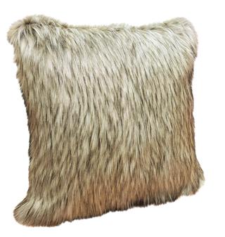 Raccoon Faux Fur Cushions