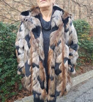Tissavel Serengeti Faux Fur Coat
