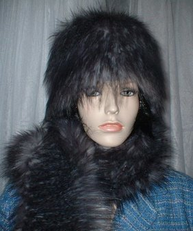 Siberian Faux Fur Hat Medium Size