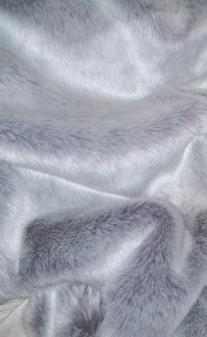 Silver Lavender Fox Faux Fur SECONDS Mega Sale