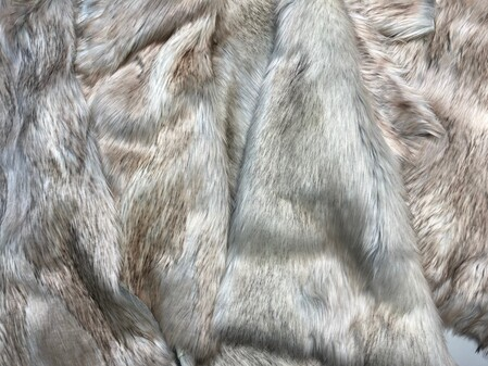 Bumper Bundle SNOW WOLF FAUX FUR