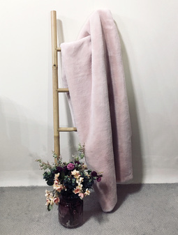 Sorbet Faux Fur Throws