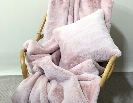 Sorbet Faux Fur Cushions