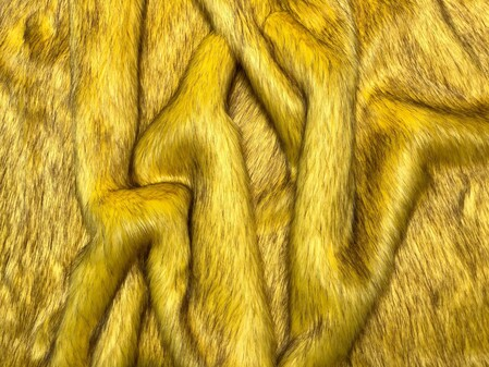 Sunflower Faux Fur Fabric