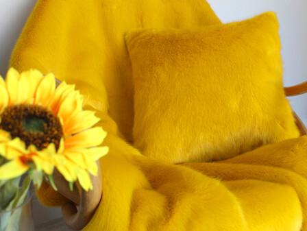 Sunrise Faux Fur Fabric