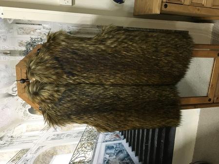 SALE Faux Fur Gilets Long