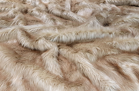 Toffee Faux Fur Throws