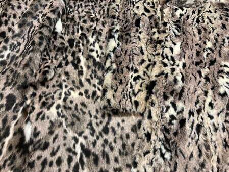 Wild Cat Faux Fur Fabric