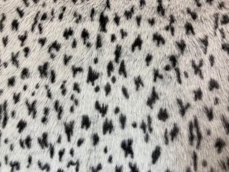 Tissavel Winter Leopard Faux Fur Fabric
