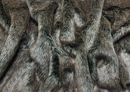 Wolfhound Faux Fur Swatch