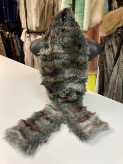 SALE Faux Fur Traditional Scarves