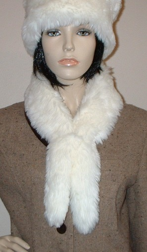 Marilyn Faux Fur Slim Collar/Headband