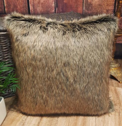 "SALE 16"" Faux Fur Cushions"