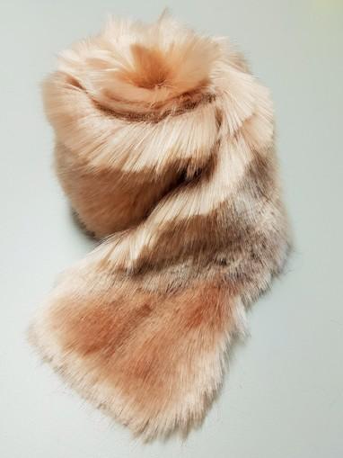 Tissavel Blush Faux Fur Trims