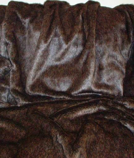 Brown Bear Faux Fur SECONDS