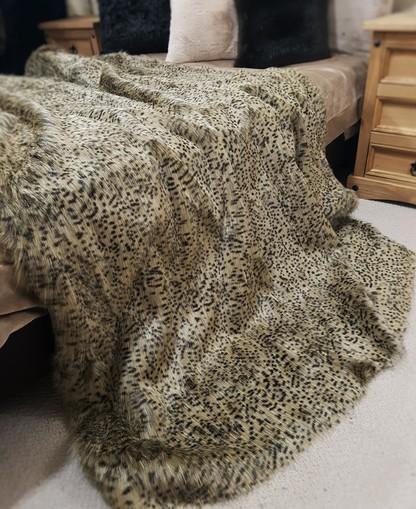 Cheetah Faux Fur Fabric