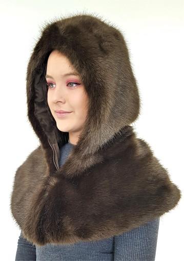 SALE Faux Fur Zipped Hoods