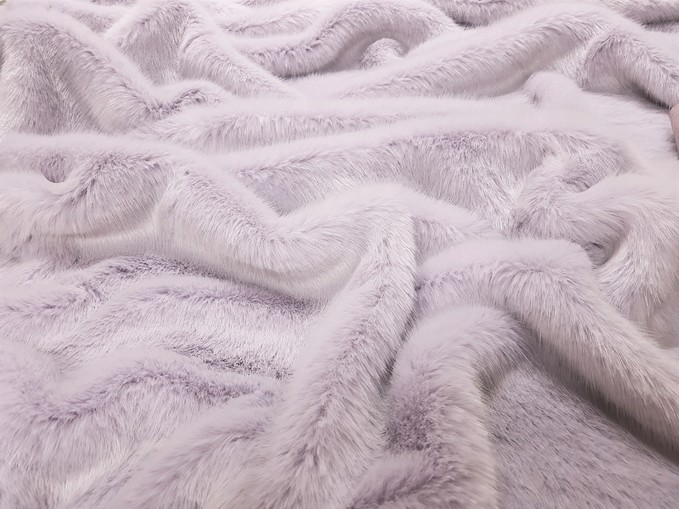 Children's Tissavel Lavender Faux Fur Bolero