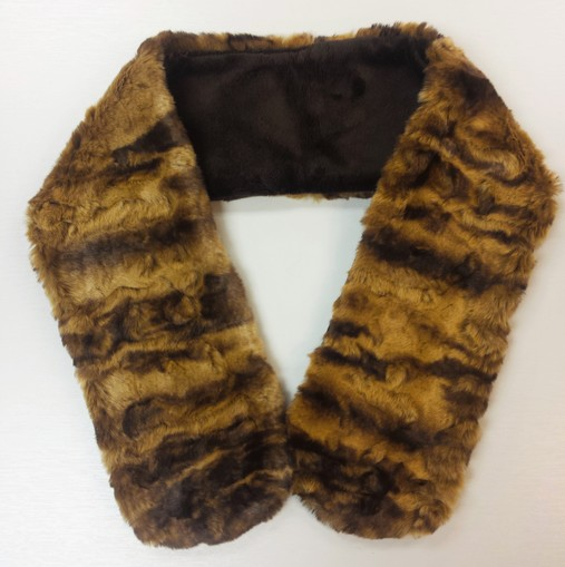 Vintage Gold Astra Faux Fur Neck Scarf