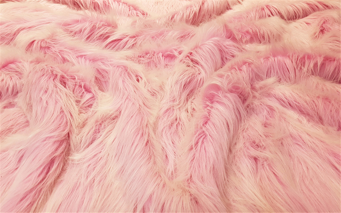 Candy Faux Fur Fabric Per Metre