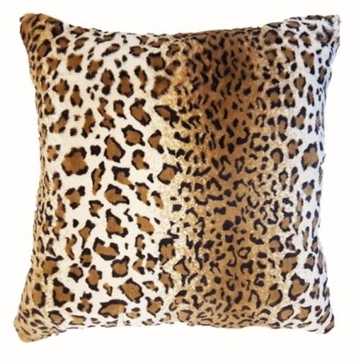 New Jaguar Faux Fur Cushions