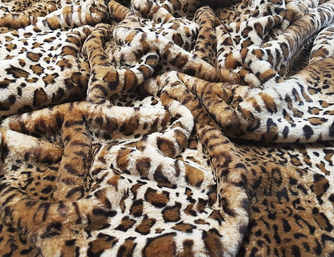 Animal Print Set Of Faux Fur Swatches
