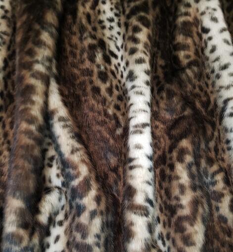 Ocelot Faux Fur Trims