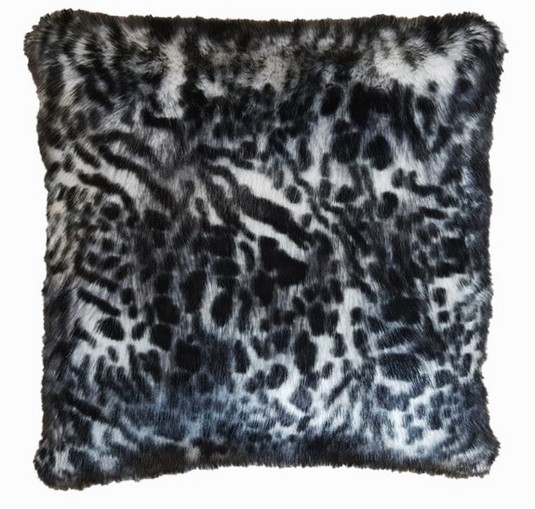 Panther Faux Fur Cushions