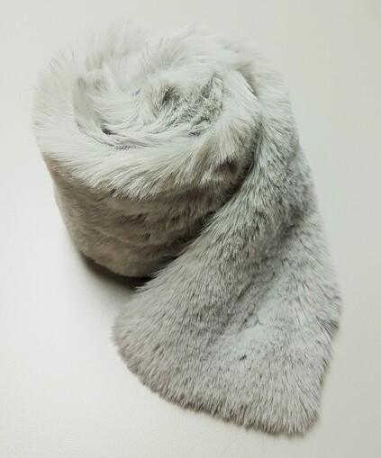 Silver Softee Faux Fur Trims