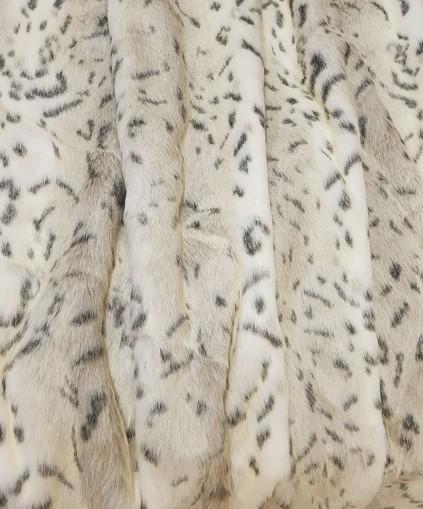 Children's Tissavel Snow Lynx Faux Fur Capelet