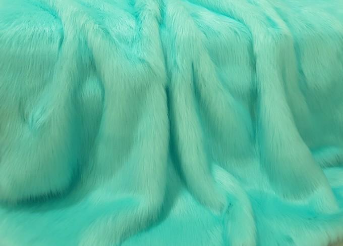 Tissavel Turquoise Faux Fur Fabric