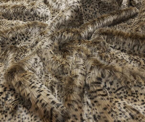 Cheetah Faux Fur Trims