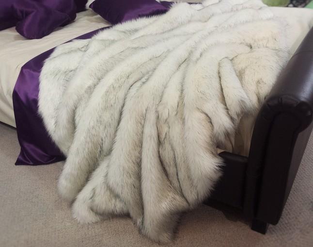840d95b78fd Alaska Faux Fur Throw - Faux Fur Throws