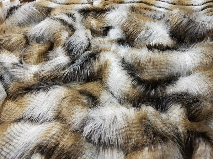 Tangiers Faux Fur Fabric Limited Edition