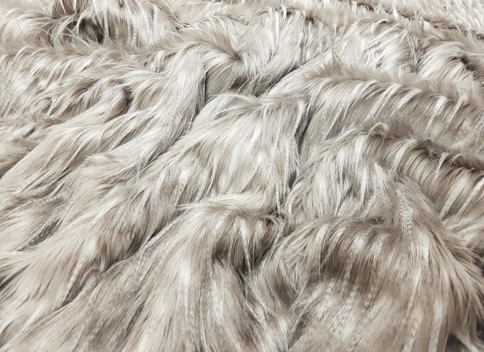 SALE Tufty Faux Fur Throw