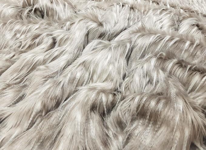 Tufty Double Faux Fur Pom Pom Scarf