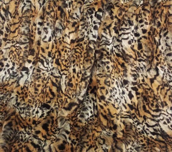 Jungle Cat Faux Fur