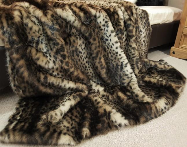 New Ocelot Faux Fur Swatch
